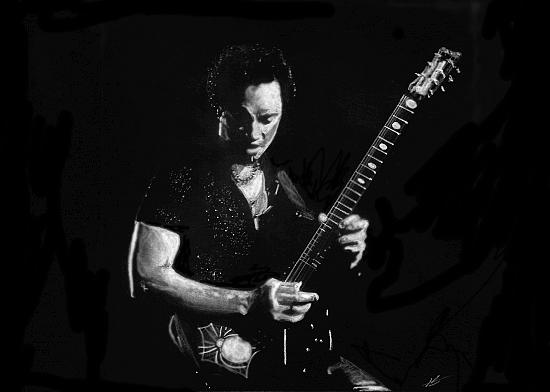 Kirk Hammett par Hippy
